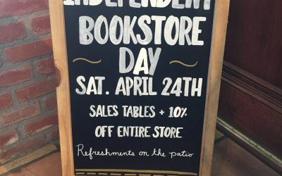 Independent Bookstore Day!