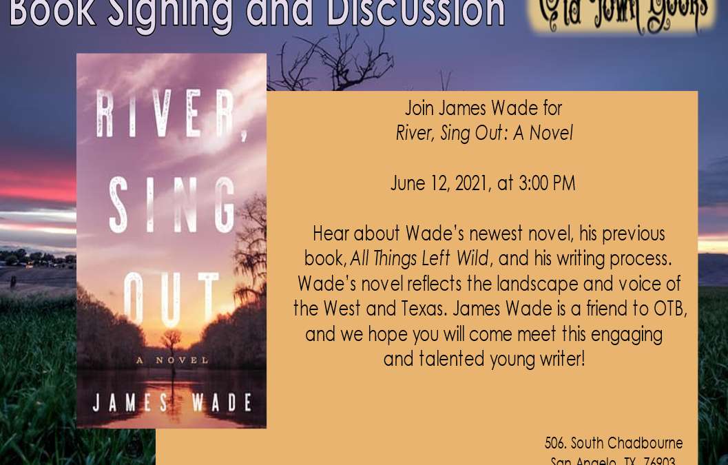 Book Signing and Discussion with James Wade